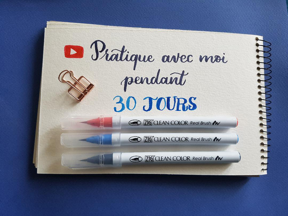 vidéos lettering
