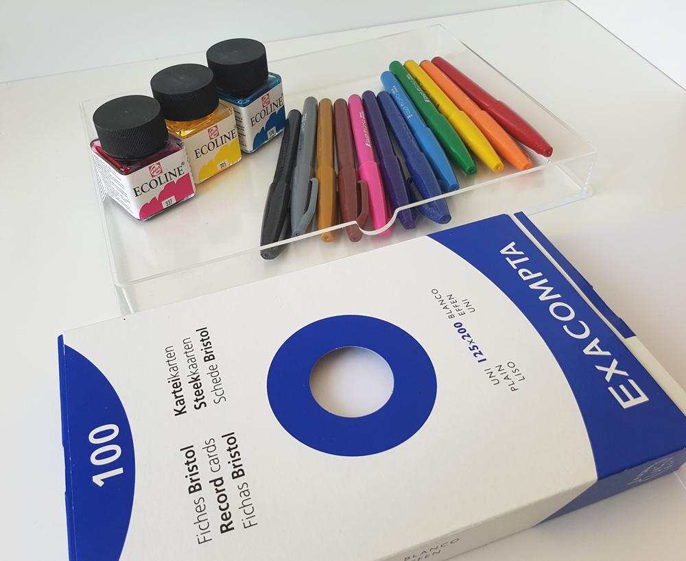 matériel pour blending lettering