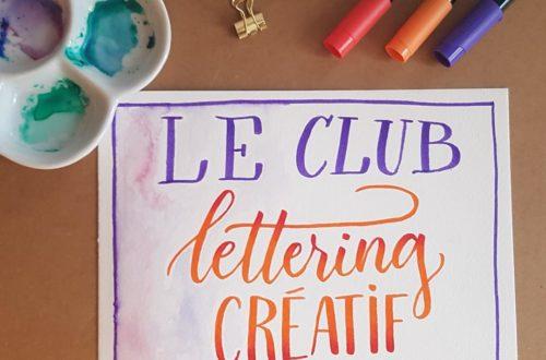 Club Lettering Créatif