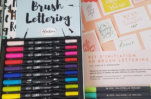 kits lettering aladine la petite epicerie