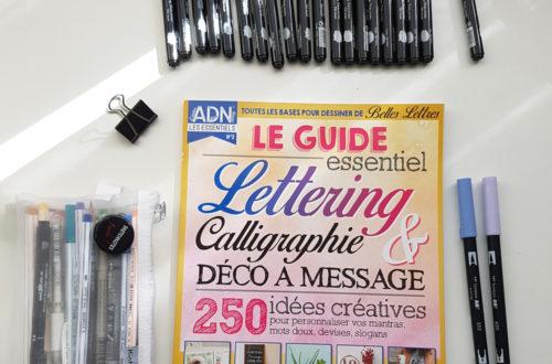 Couverture du hors-série Lettering Atelier des Nanas