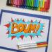 Ecrire des lettres en style BD