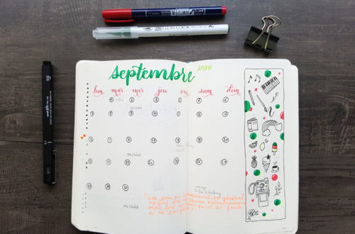 Embellir son Bullet Journal
