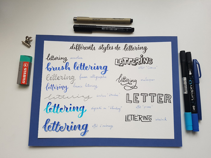 styles lettering