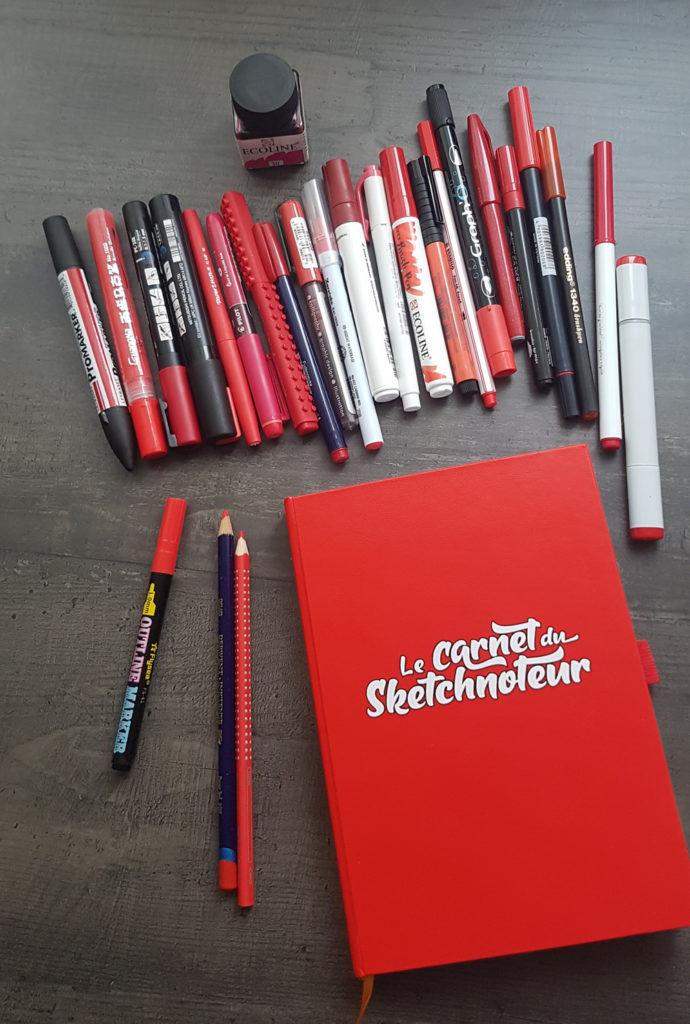 Je teste le carnet du sketchnoteur