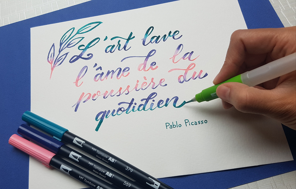 Citation de Picasso sur l'art